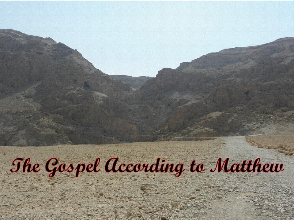 Matthew Chapter 15