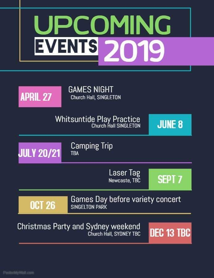 Youth Events 2019